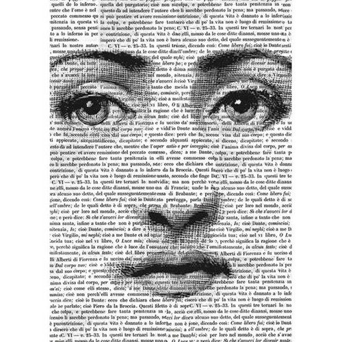 Papier Rijstpapier A4 Face on words