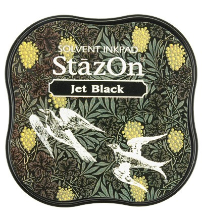 Inkt StazOn Medium Jet Black
