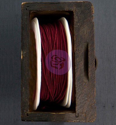 Prima Marketing Wire Thread Rose Red