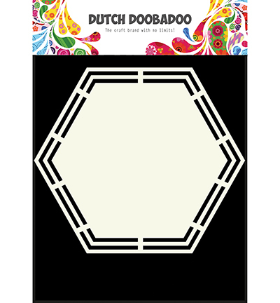 Dutch Doobadoo Shape Art Hexagon