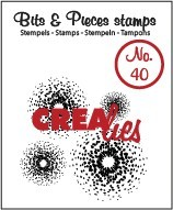Stempel Crealies bits and pieces No. 40