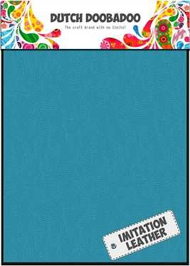 Dutch Doobadoo Fabric Sheets imitatieleer Turquoise