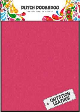Dutch Doobadoo Fabric Sheets imitatieleer Roze