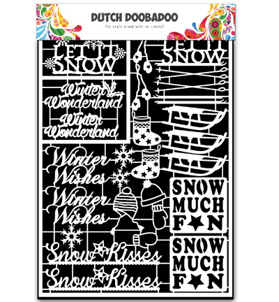 Dutch Doobadoo Paper Art Winter