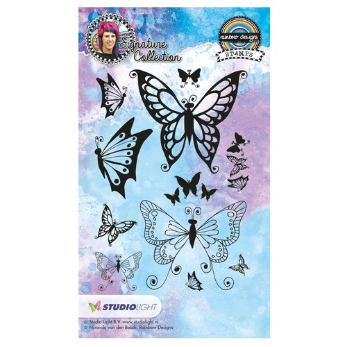 Stempel Studio Light Rainbow Designs Nr. 18