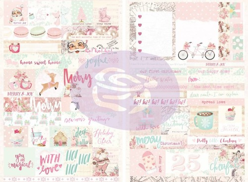 Papier Prima Marketing Santa Baby Stickers