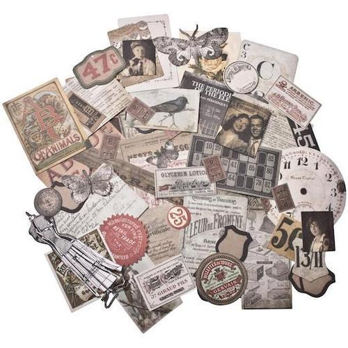 Tim Holtz Idea-ology Ephemera Pack, Thrift Shop