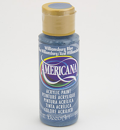 Verf Americana Williamsburg Blue