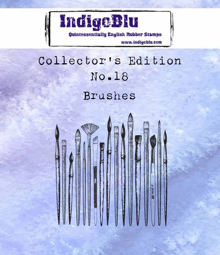 Stempel IndigoBlu Collectors No. 18 Brushes
