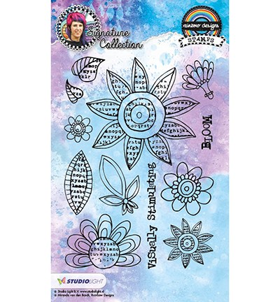 Stempel Studio Light Rainbow Designs Nr. 12