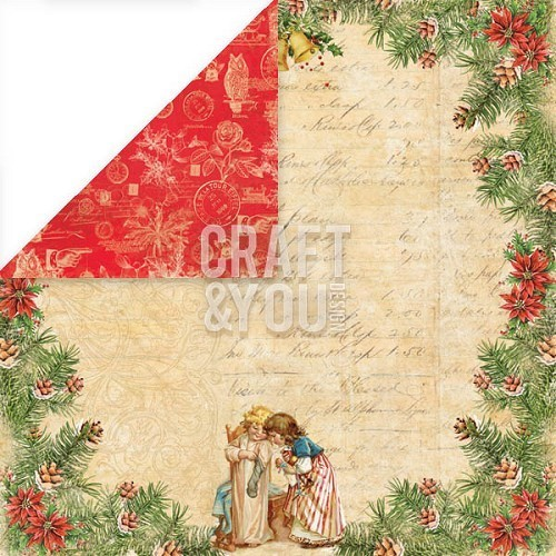 Scrappapier Craft and You Christmas Story nummer 2