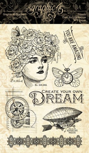 Stempel Graphic 45 Dream