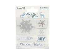 Stempel Dovecraft Snowflakes
