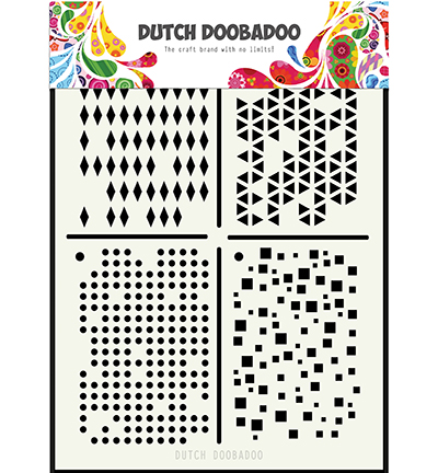 Template Dutch Doobadoo Multistencil