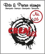 Stempel Crealies Bits and Pieces Splash