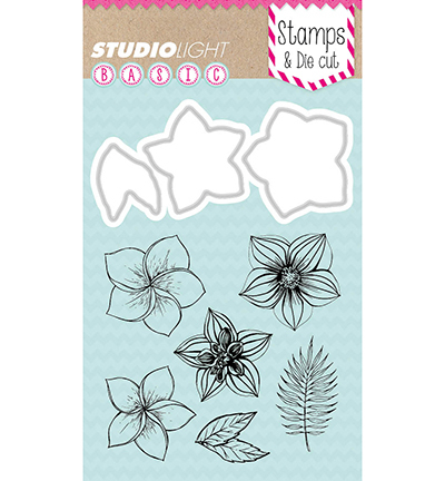 Stempel/Stans set Studio Light Flowers