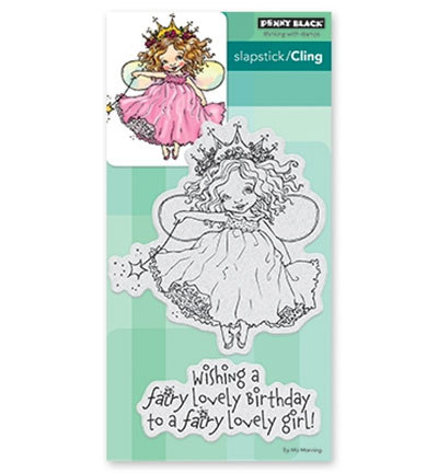 Stempel Penny Black Fairy Birthday