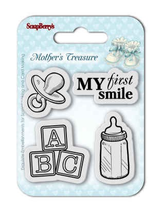 Stempel Scrapberry Mother`s Treasure First Smile