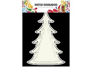 Dutch Doobadoo Cardart Kerstboom 2x