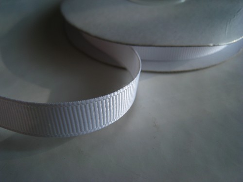 Lint Grosgrain Wit 10mm