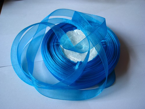Lint Organza 12mm Turquoise