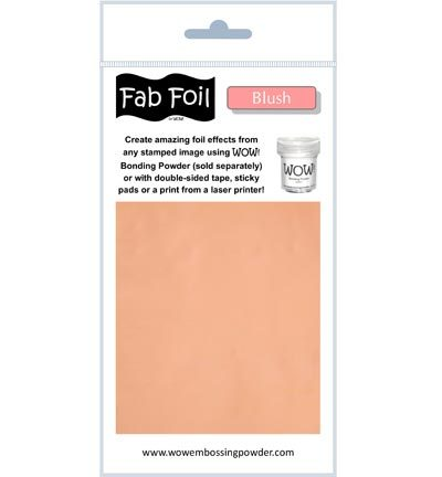 Mixed Media Hotfoil Blush