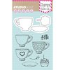 Stempel/Stans set Studio Light Cup of tea