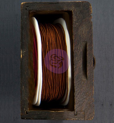 Prima Marketing Wire Thread Brown