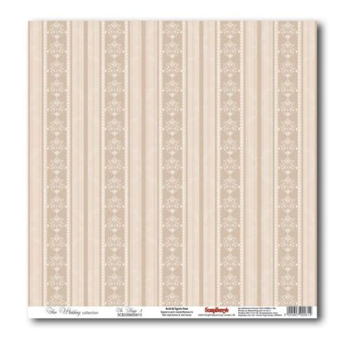 Papier Scrapberry`s In Beige 3