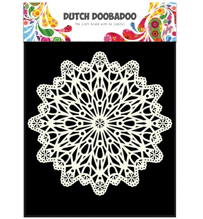 Template Dutch Doobadoo Mask art Circle