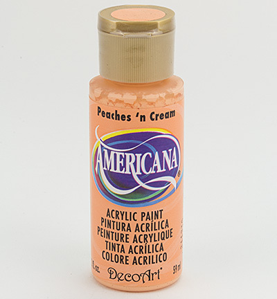 Verf Americana Peaches `n Cream