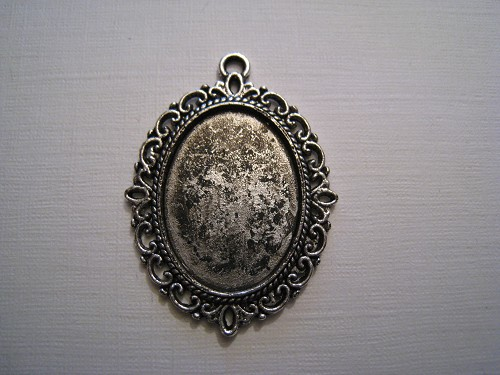 Charm Frame Ovaal groot zilver