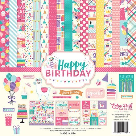 Echopark Papercollection Happy Birthday