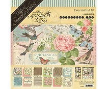 Graphic 45 Botanical Tea Collection pack